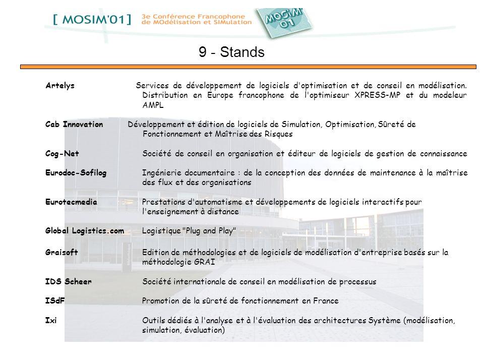 Artelys Services de développement de logiciels d'optimisation et de conseil en modélisation. Distribution en Europe francophone de l'optimiseur XPRESS