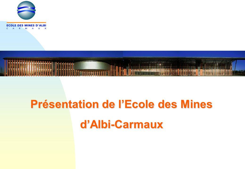 Présentation de lEcole des Mines dAlbi-Carmaux