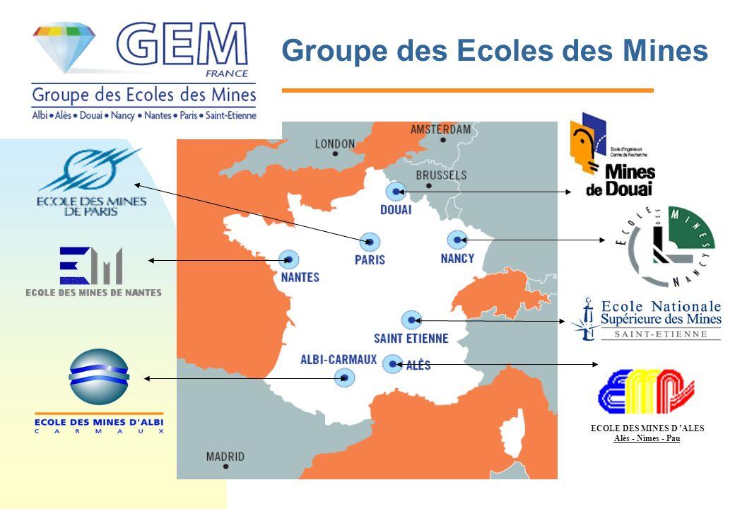 Groupe des Ecoles des Mines ECOLE DES MINES D ALES Alès - Nîmes - Pau