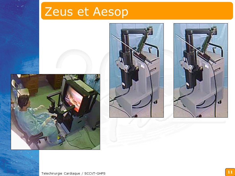 11 Telechirurgie Cardiaque / SCCVT-GHPS Zeus et Aesop