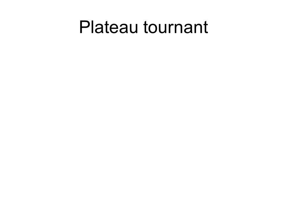Plateau tournant
