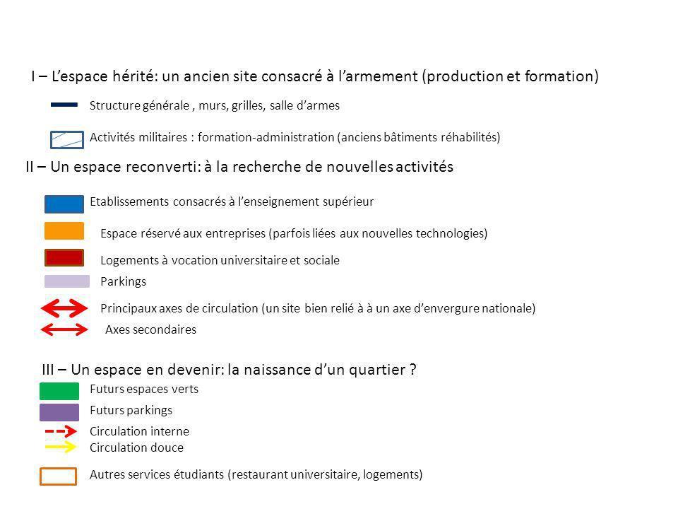 Le site de Lahitolle à Bourges: vers un technopôle.