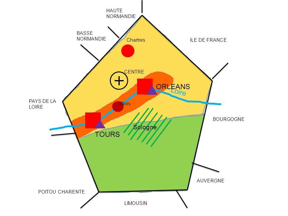 Loire BASSE NORMANDIE HAUTE NORMANDIE PAYS DE LA LOIRE POITOU CHARENTE LIMOUSIN AUVERGNE BOURGOGNE ILE DE FRANCE CENTRE TOURS ORLEANS Chartres Blois S