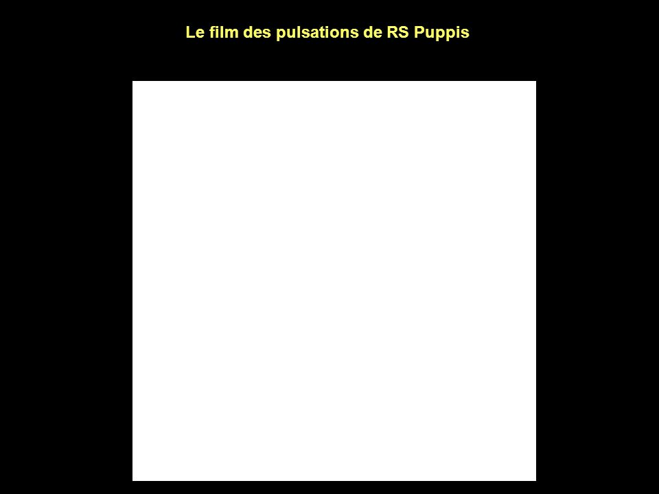 Le film des pulsations de RS Puppis