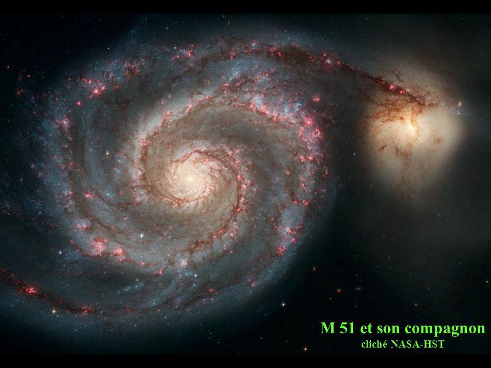 M 51 et son compagnon cliché NASA-HST