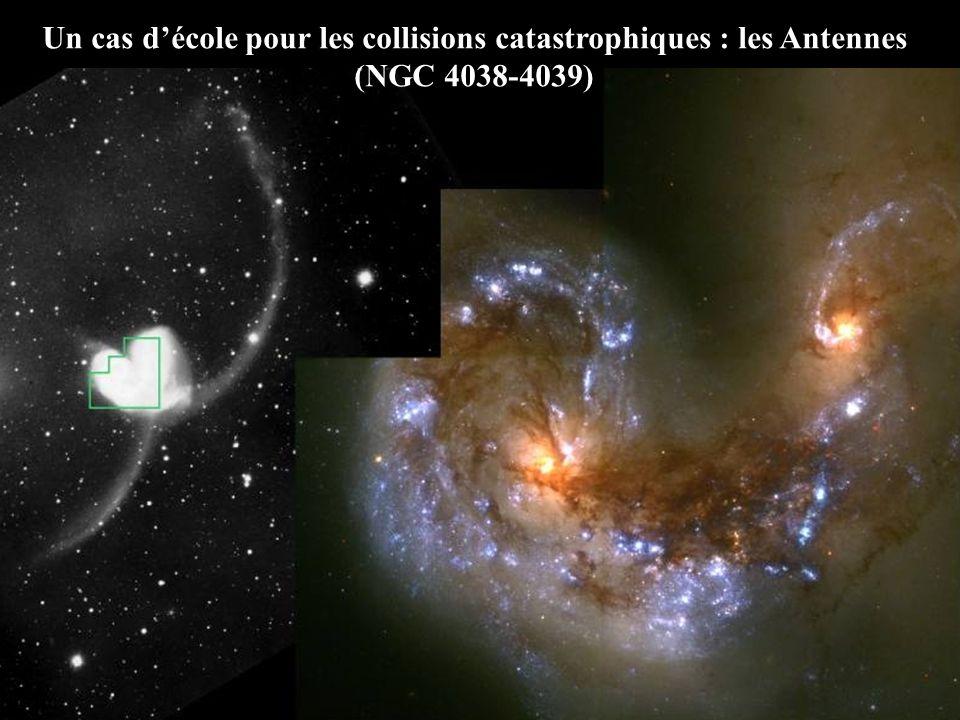 Un cas décole pour les collisions catastrophiques : les Antennes (NGC 4038-4039)