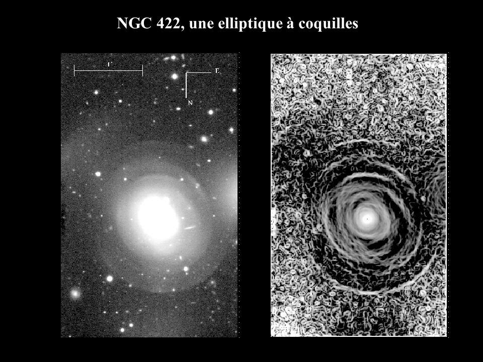 NGC 422, une elliptique à coquilles