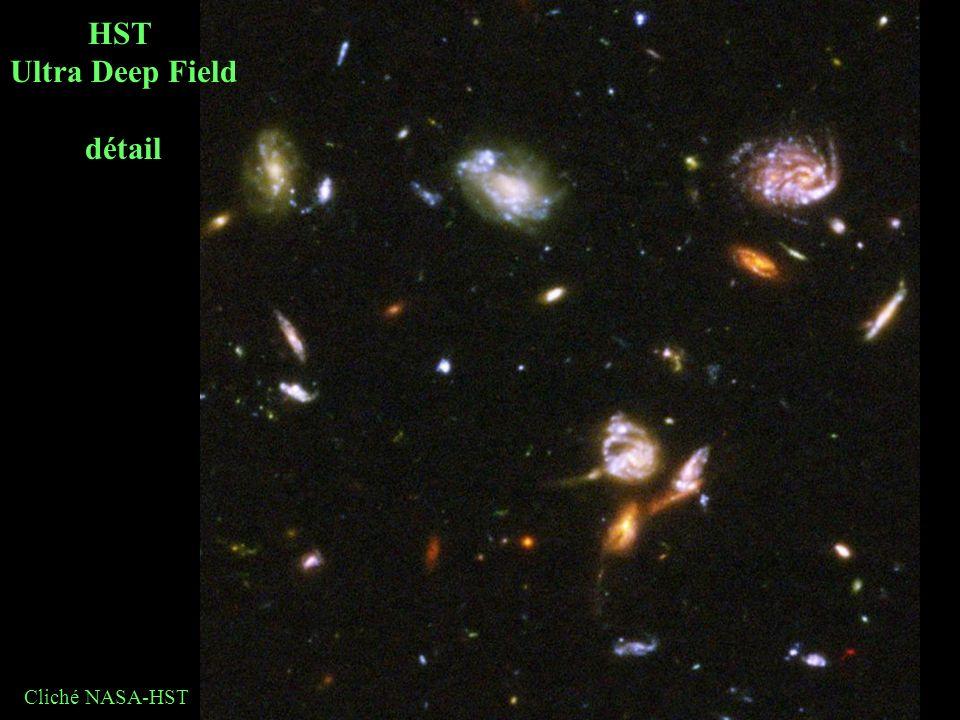 HST Ultra Deep Field détail Cliché NASA-HST