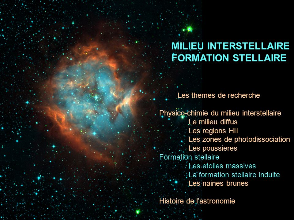 Formation stellaire induite Formation des etoiles massives Pourquoi sy interesser.
