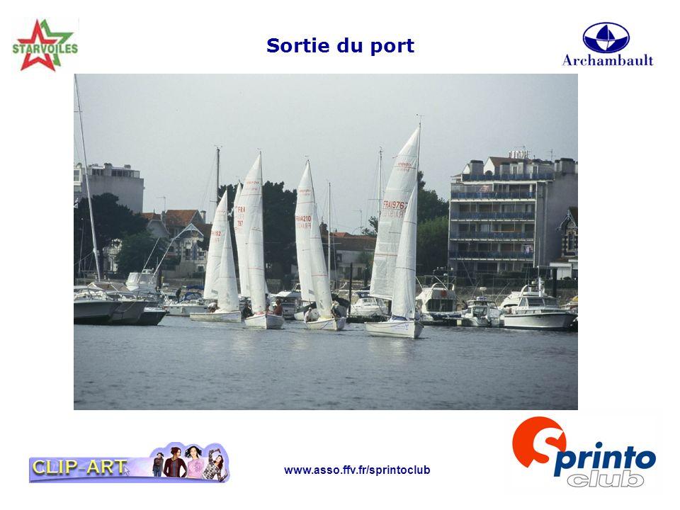 www.asso.ffv.fr/sprintoclub Sortie du port