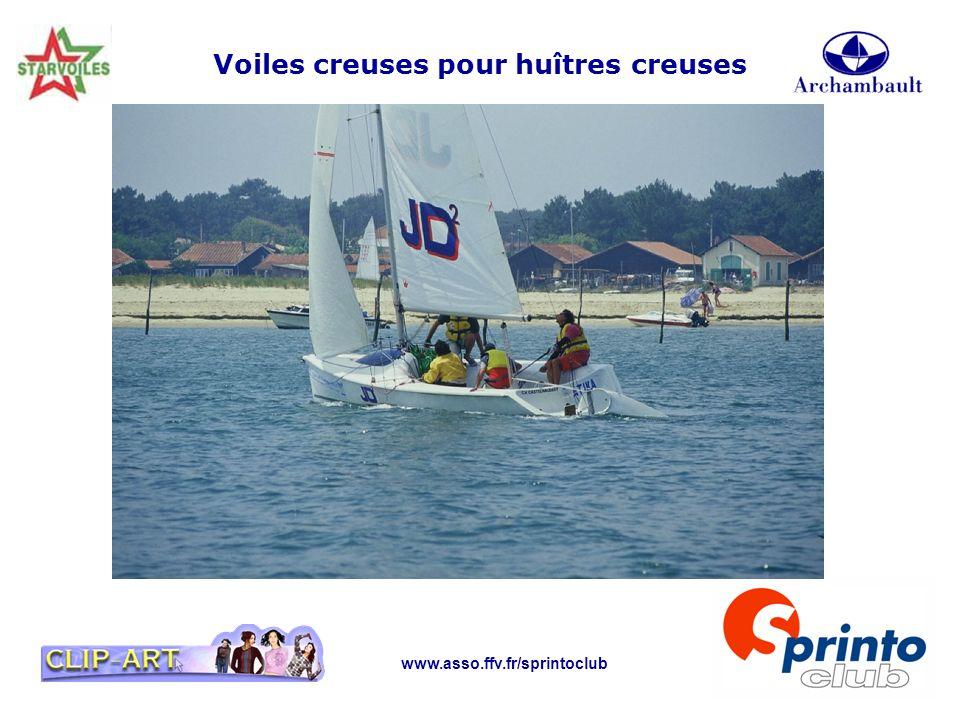 www.asso.ffv.fr/sprintoclub Voiles creuses pour huîtres creuses