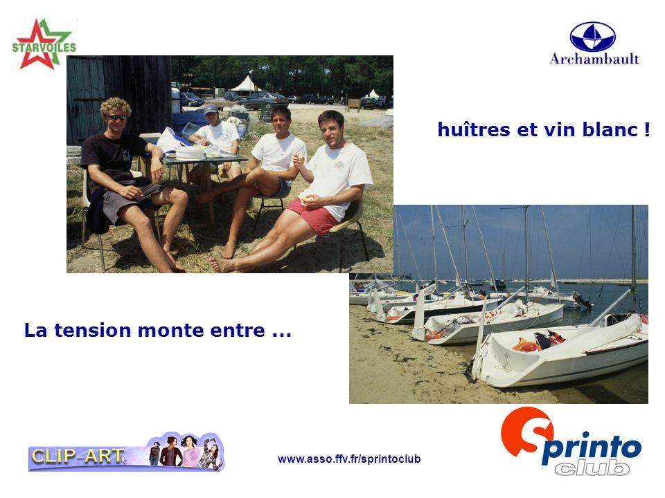 www.asso.ffv.fr/sprintoclub La tension monte entre... huîtres et vin blanc !