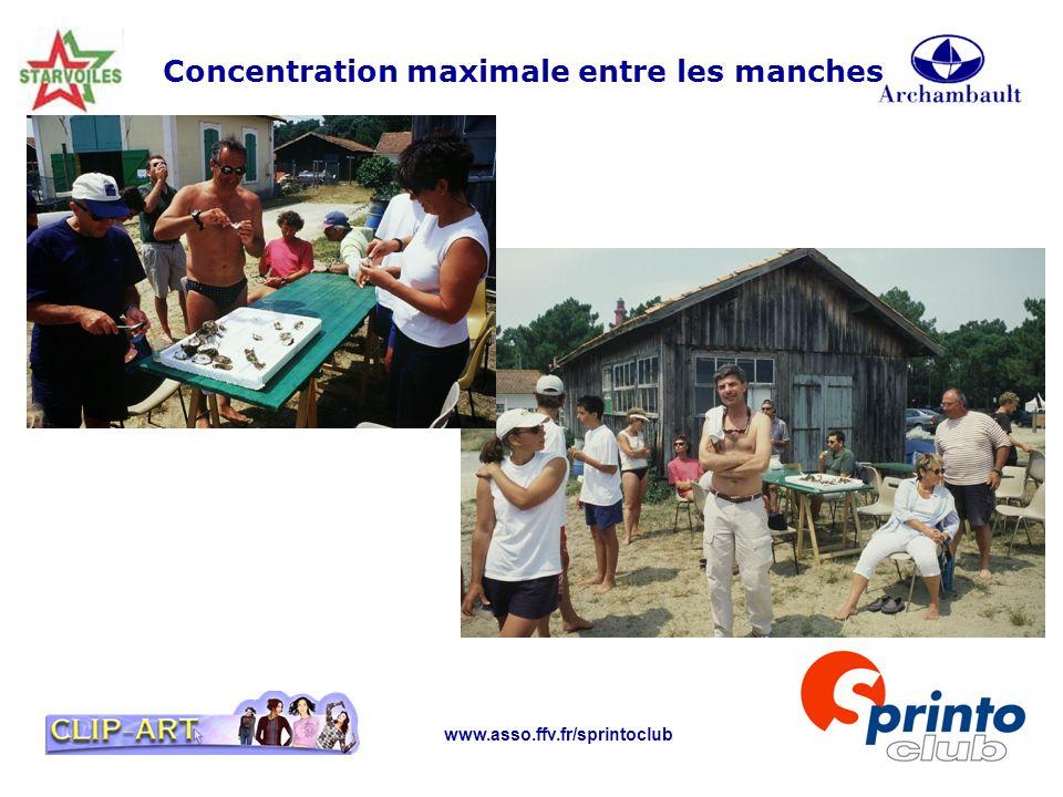 www.asso.ffv.fr/sprintoclub Concentration maximale entre les manches