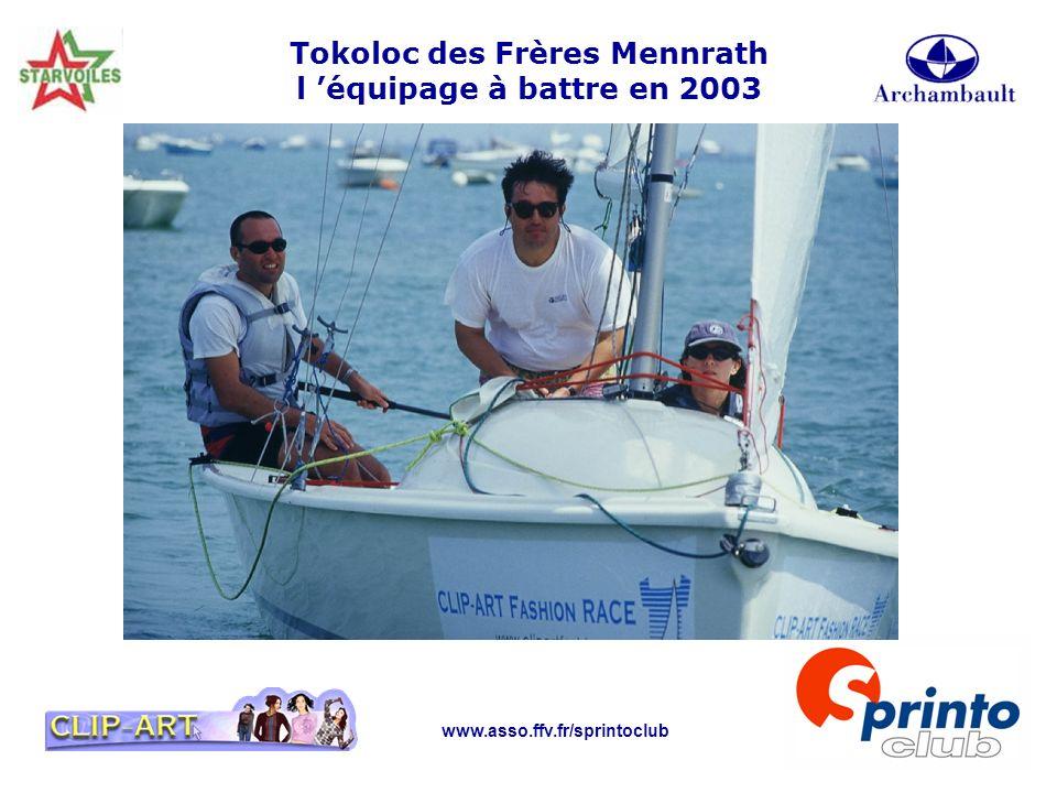 www.asso.ffv.fr/sprintoclub Tokoloc des Frères Mennrath l équipage à battre en 2003