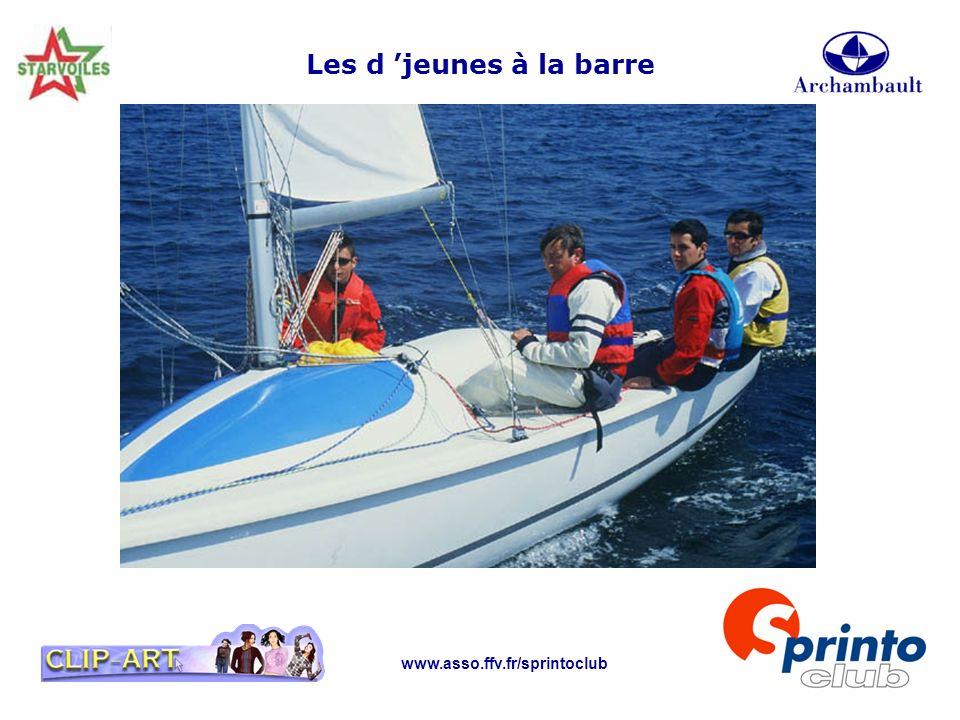 www.asso.ffv.fr/sprintoclub Les d jeunes à la barre