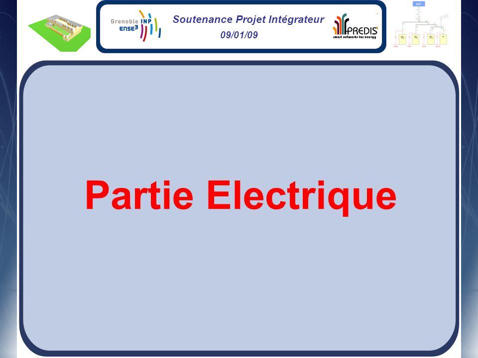 Soutenance Projet Intégrateur 09/01/09 Partie Electrique