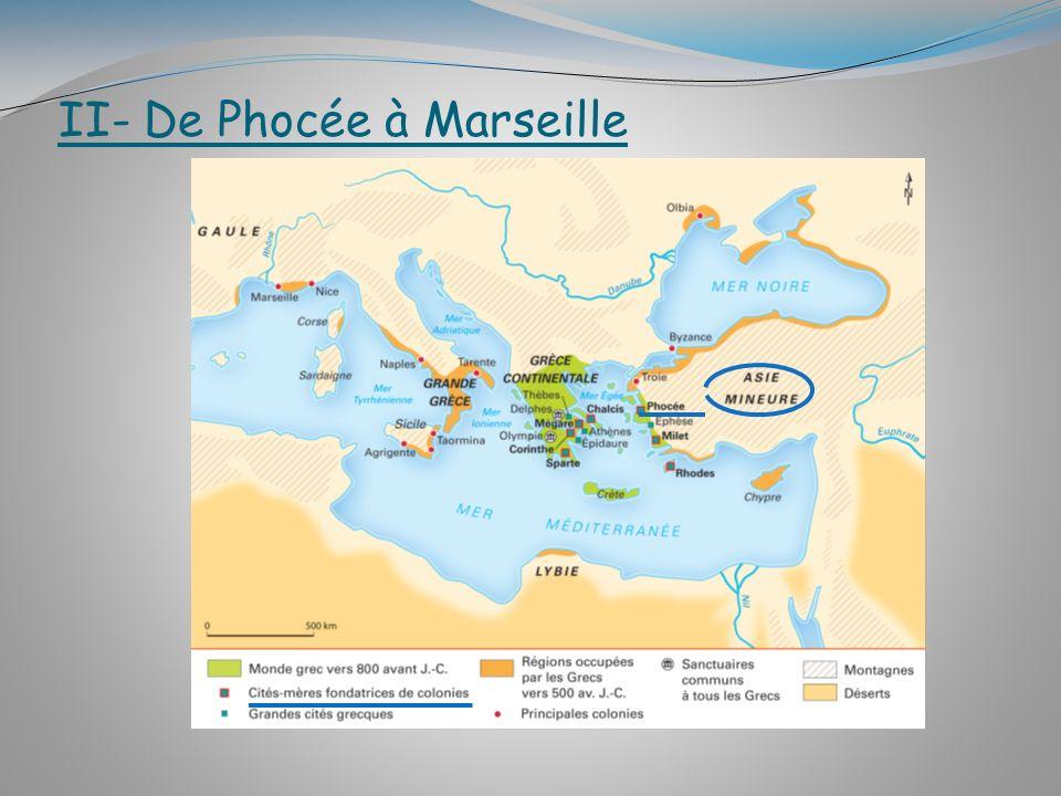 II- De Phocée à Marseille