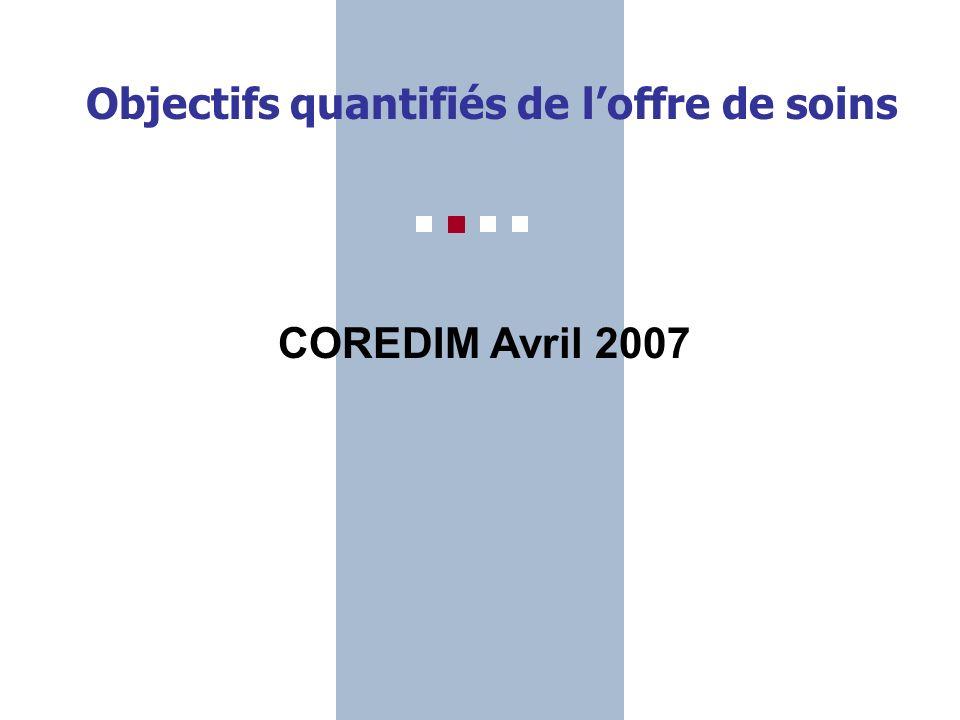 Gwen Marqué, Chargé de mission ARH nord-Pas-de-Calais Objectifs quantifiés de loffre de soins COREDIM Avril 2007