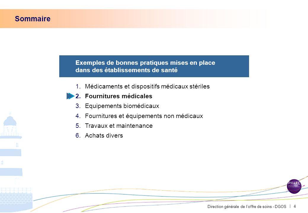 Direction générale de loffre de soins - DGOS | 3 Au CHU de St Etienne, le COMEDIMS a fait le choix dun contenant de médicament en plastique pour un ga