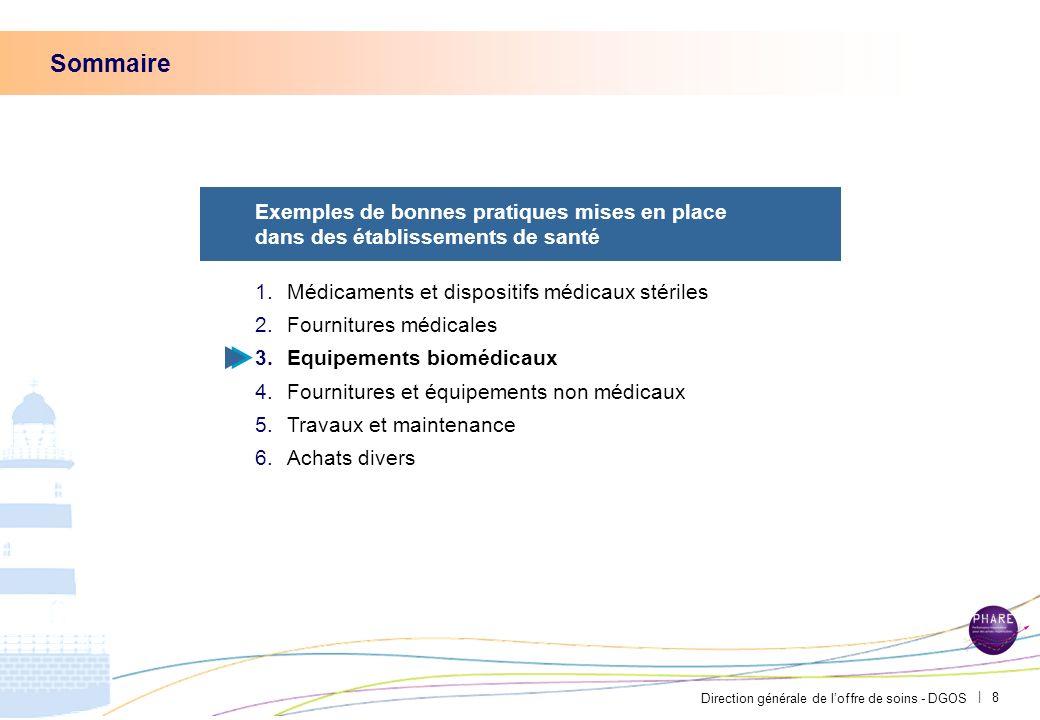 Direction générale de loffre de soins - DGOS | 7 Une cadre supérieure de santé positionnée en lien entre service achats et services de soins a amélior