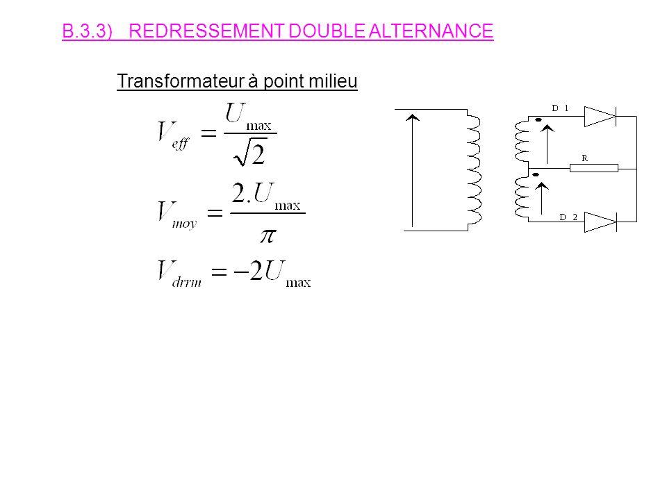 B.3.2)REDRESSEMENT MONOALTERNANCE.