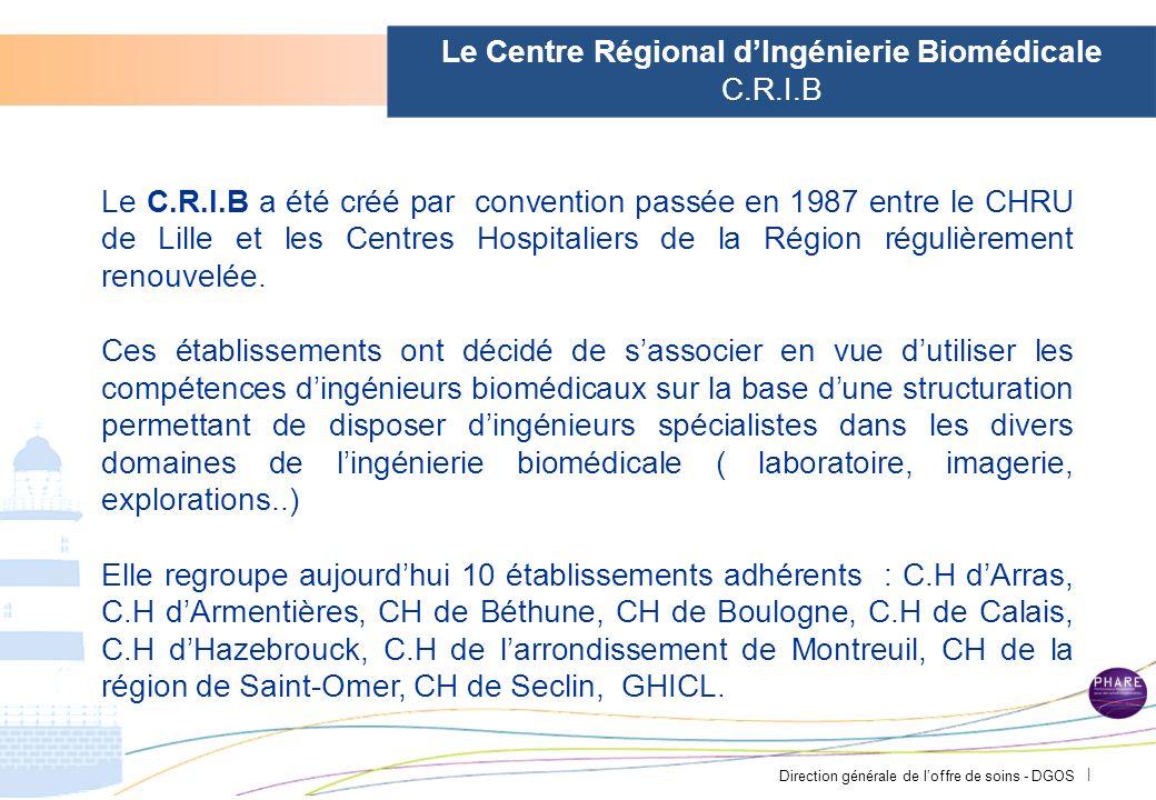 Direction générale de loffre de soins - DGOS | Le Centre Régional dIngénierie Biomédicale C.R.I.B