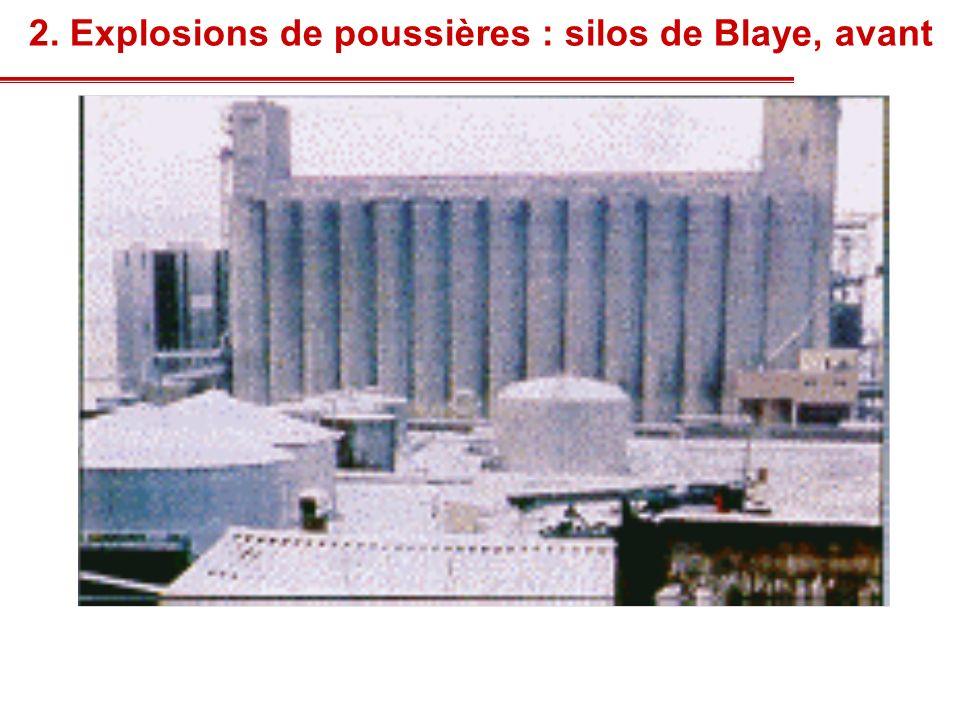2. Explosions de poussières : silos de Blaye, après