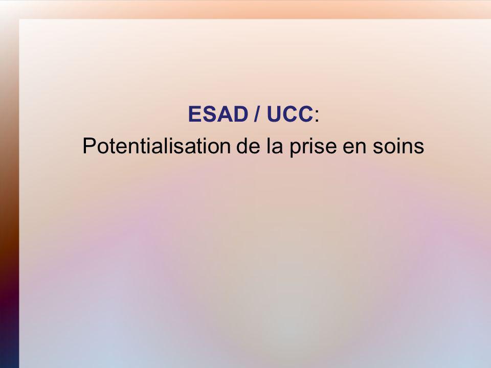ESAD / UCC: Potentialisation de la prise en soins