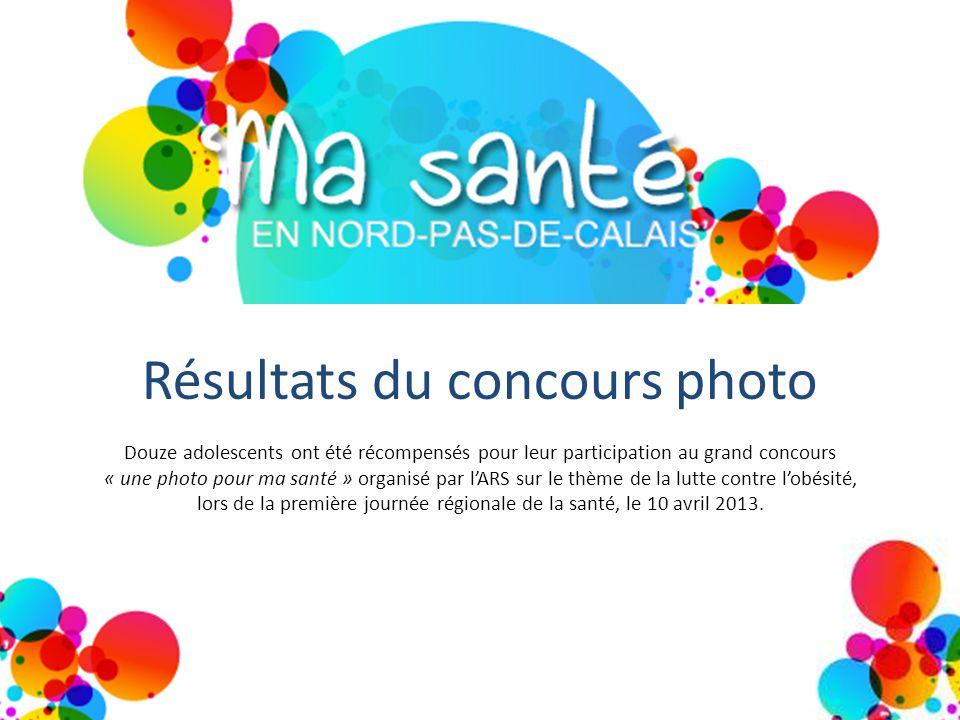 Résultats du concours photo Douze adolescents ont été récompensés pour leur participation au grand concours « une photo pour ma santé » organisé par l