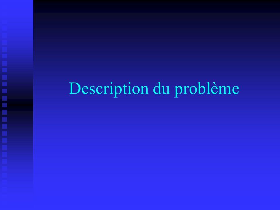Décomposition de Benders Programme linéaire (3) Variables de décision : r c θ : marge satisfaction de la requête Évite lirréalisabilité
