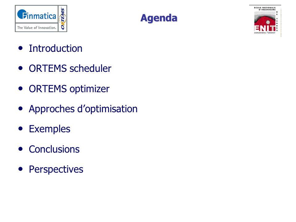 Introduction Le problème Grand nombre de paramètres à régler Ordonnancement très sensible aux valeurs des paramètres Plusieurs objectifs Comment sélectionner et régler les paramètres par rapport aux objectifs de la production Indic.
