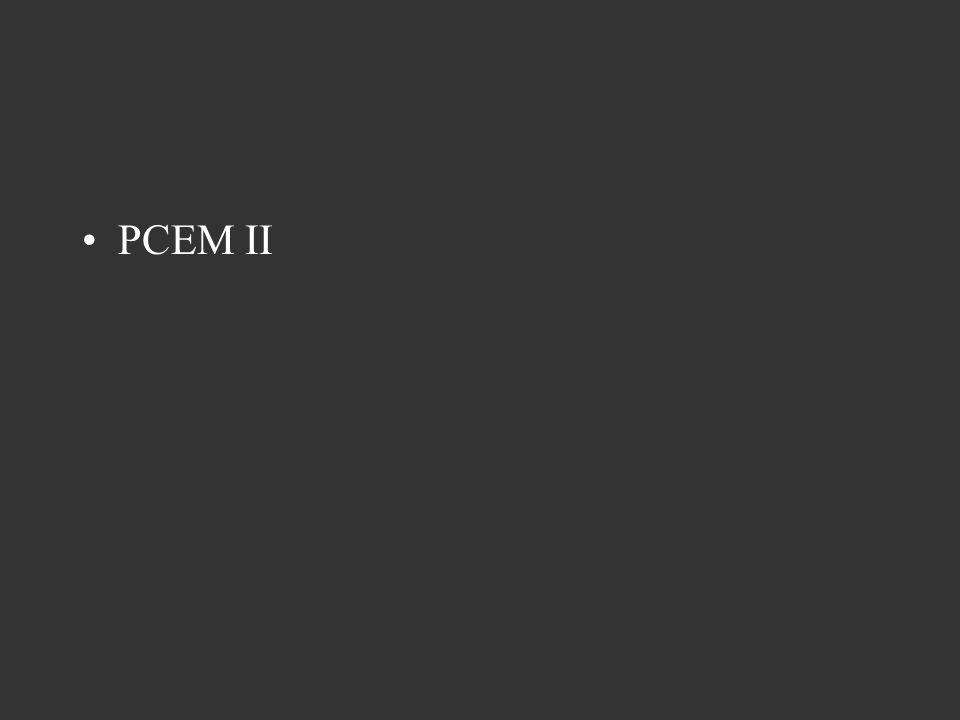 PCEM II