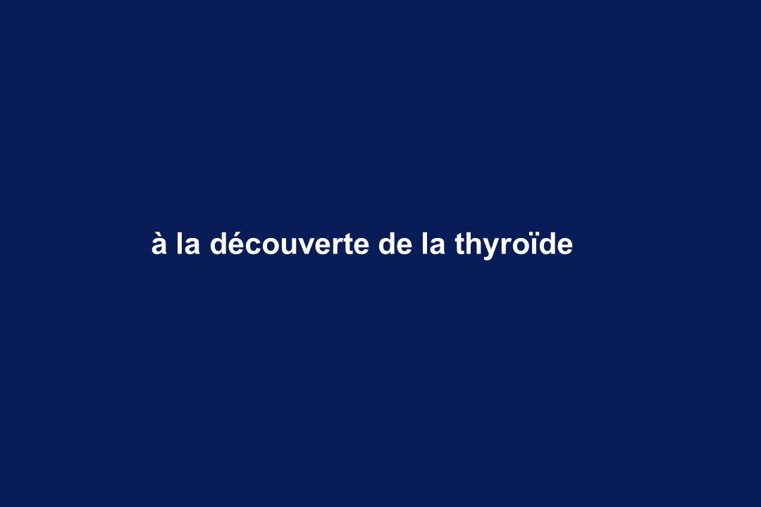 la physiologie thyroïdienne