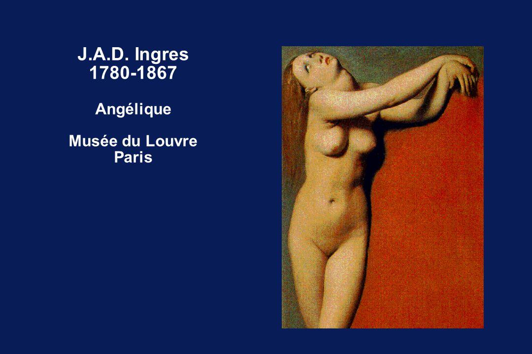J.A.D. Ingres 1780-1867 Angélique Musée du Louvre Paris