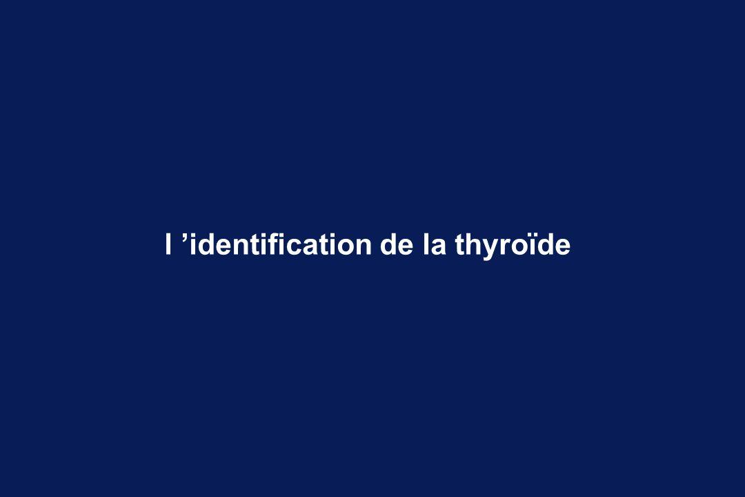 Jusqu à la Renaissance, la thyroïde est supposée servir de lubrifiant et d humidificateur du larynx.
