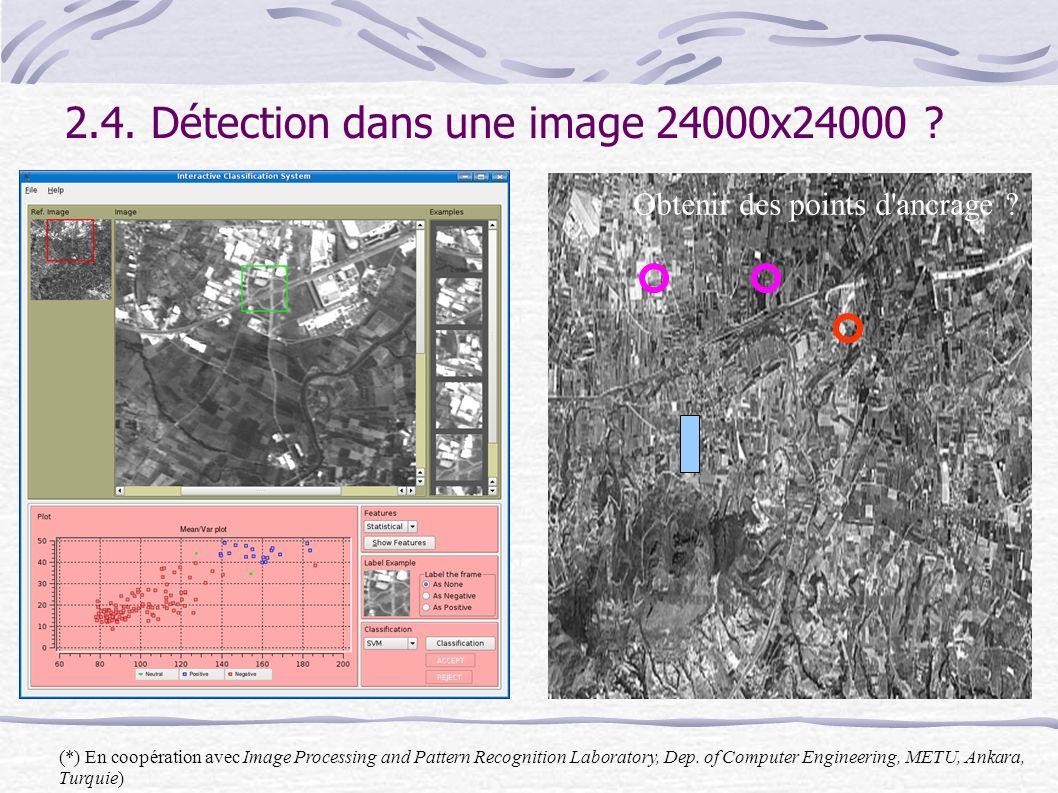 2.4. Détection dans une image 24000x24000 .