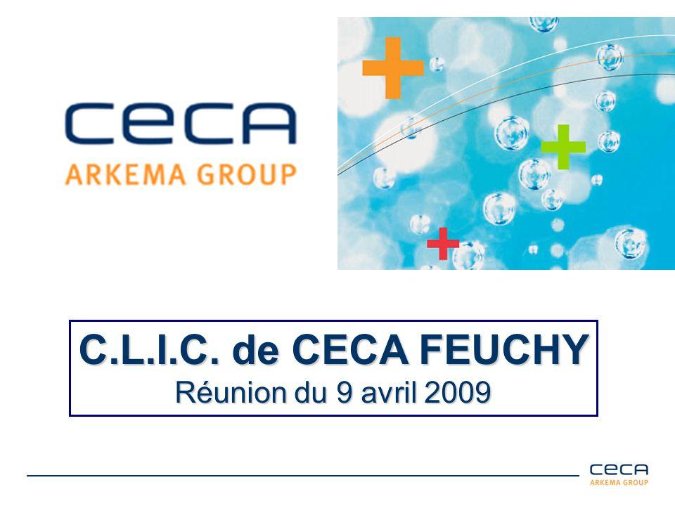 C.L.I.C. de CECA FEUCHY Réunion du 9 avril 2009