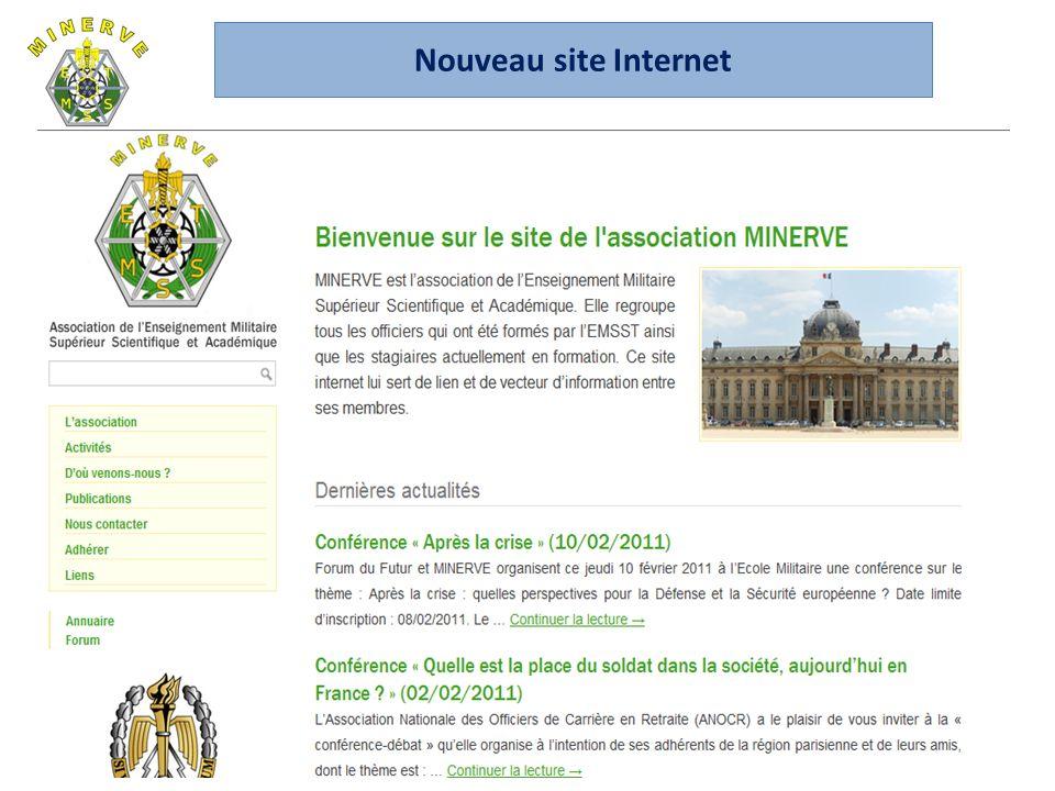 22 Nouveau site Internet