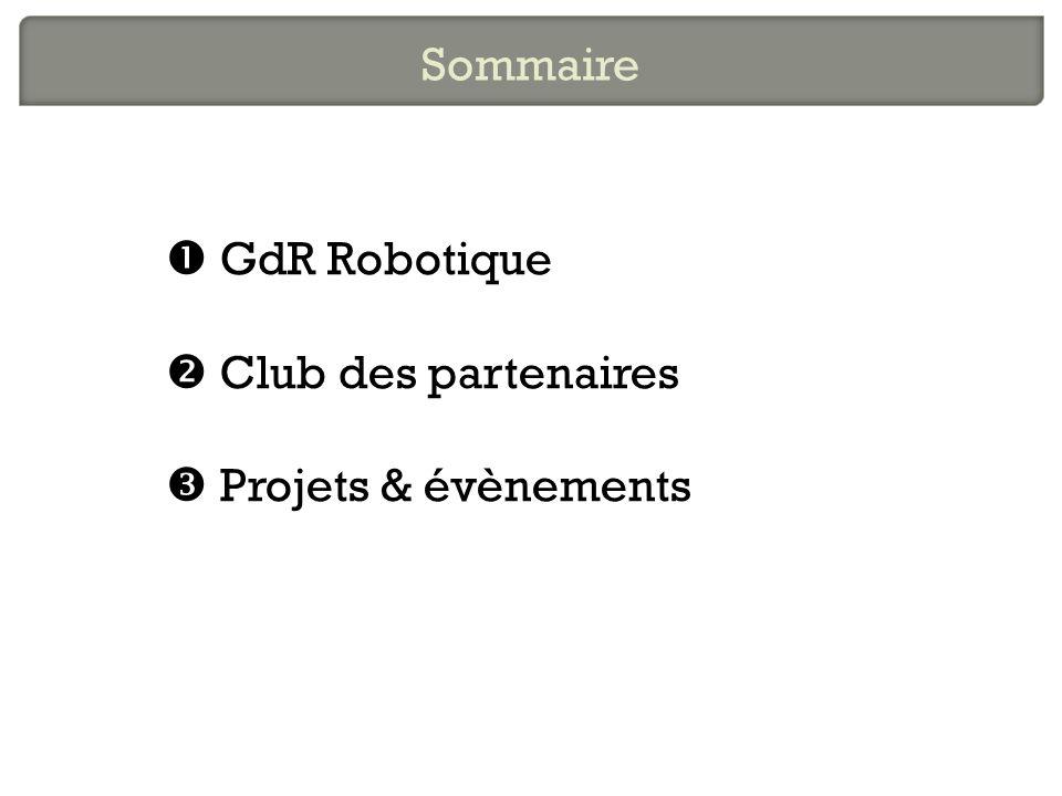 Le Groupe de Recherche en Robotique