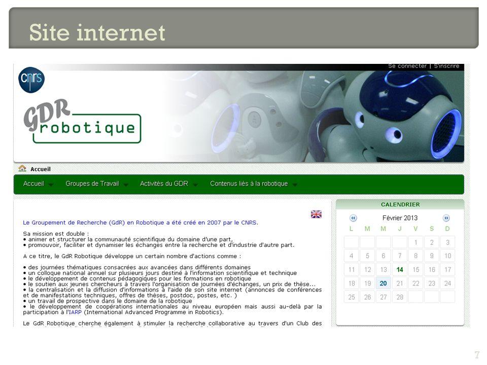 7 Site internet