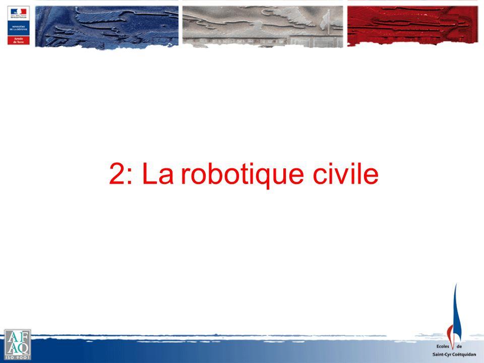 2: La robotique civile
