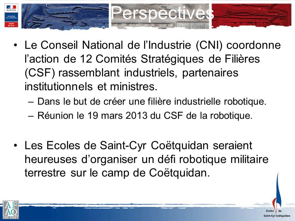 Le Conseil National de lIndustrie (CNI) coordonne laction de 12 Comités Stratégiques de Filières (CSF) rassemblant industriels, partenaires institutio