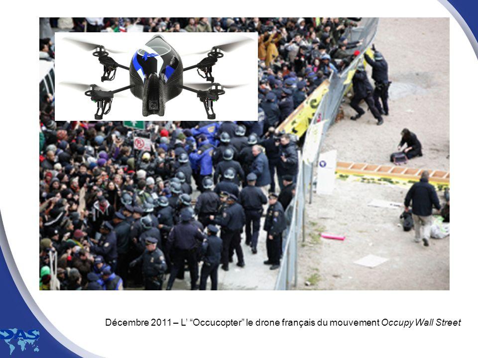 Décembre 2011 – L Occucopter le drone français du mouvement Occupy Wall Street