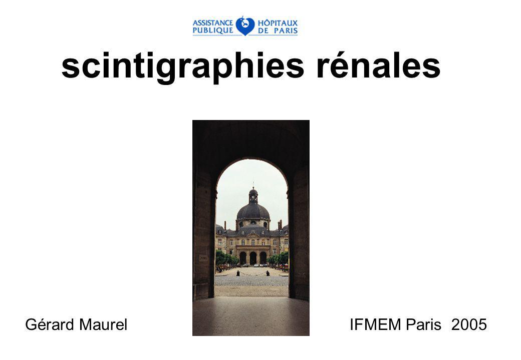 scintigraphies rénales Gérard Maurel IFMEM Paris 2005