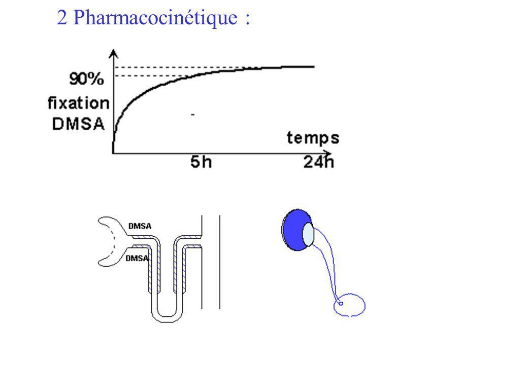 2 Pharmacocinétique :
