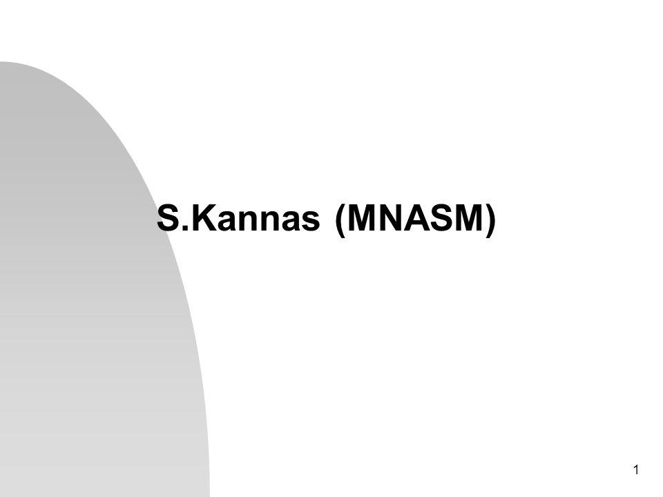 1 S.Kannas (MNASM)