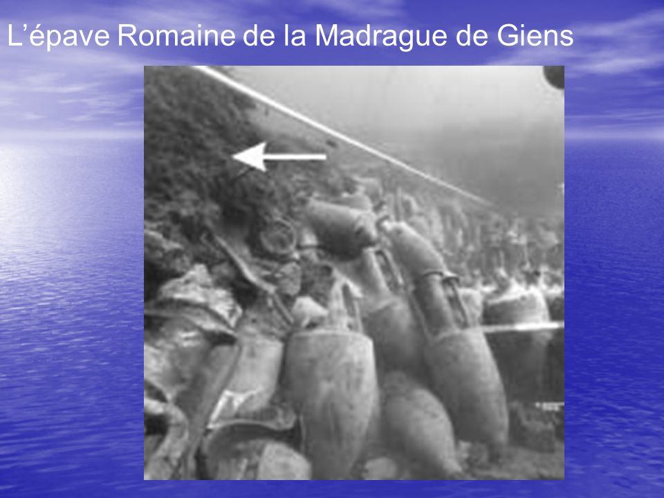 Lépave Romaine de la Madrague de Giens