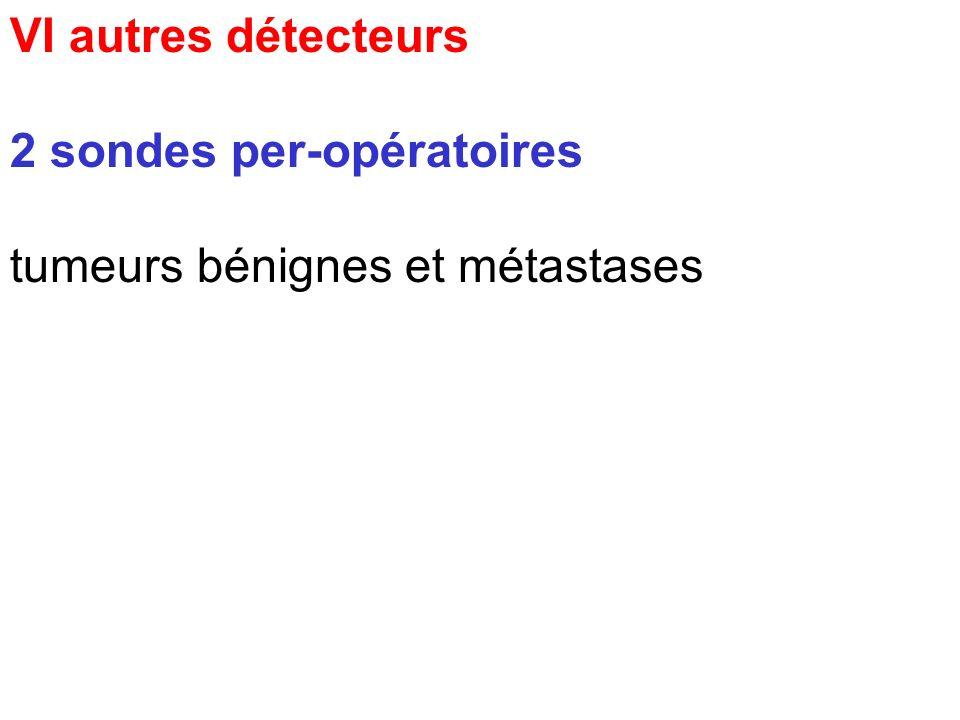 VI autres détecteurs 1 ostéodensitomètre