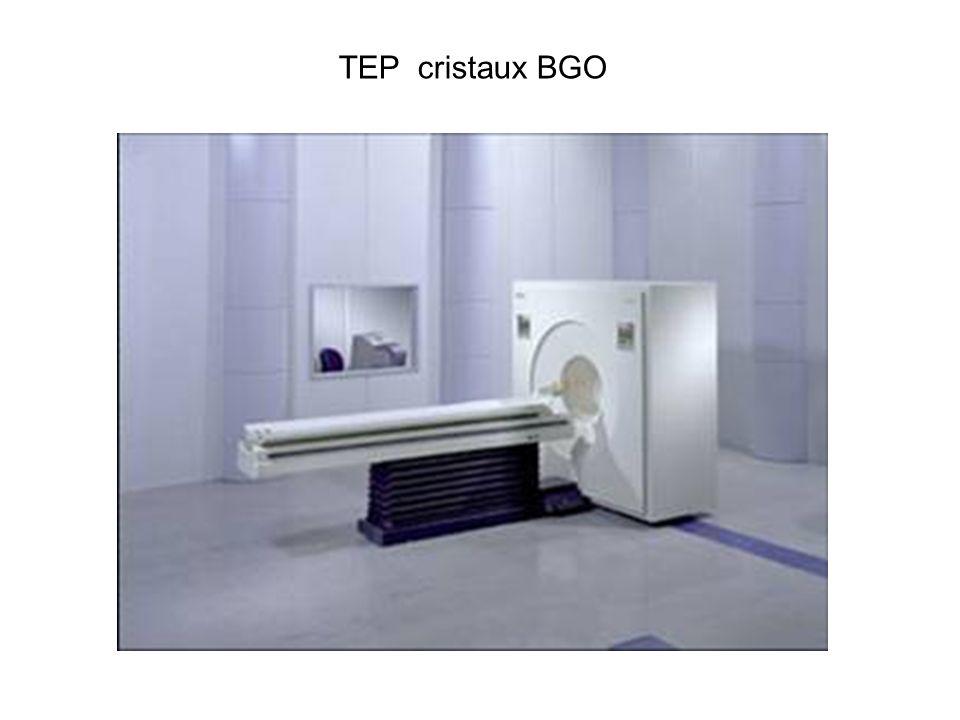 V caméra tep 2 variantes de détecteurs de positons c Cedet : caméra 2/3 têtes avec coïncidence système hybride cristaux épais (2cm) (INa)