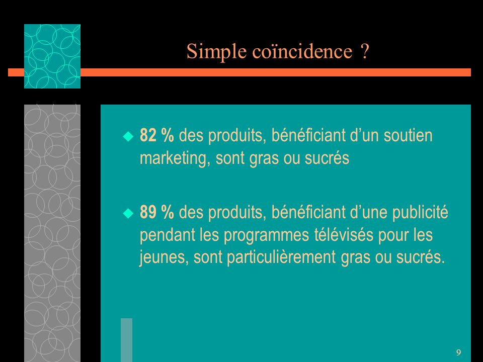 9 Simple coïncidence .